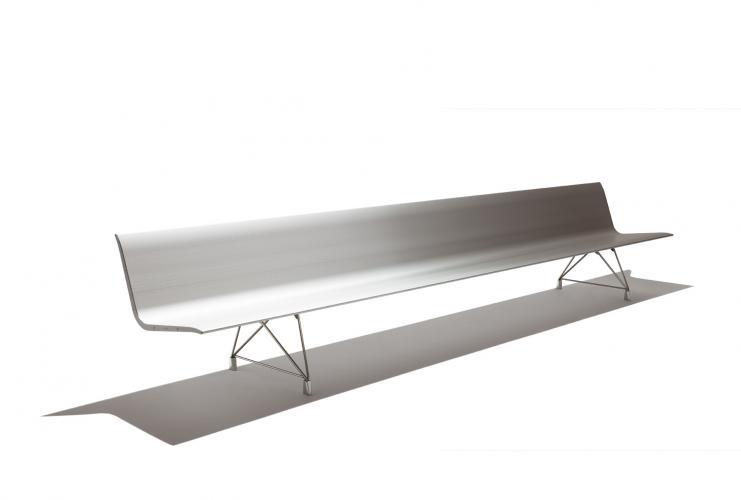 Sellex's  AERO Bench Selfstanding by Lievore Altherr Molina